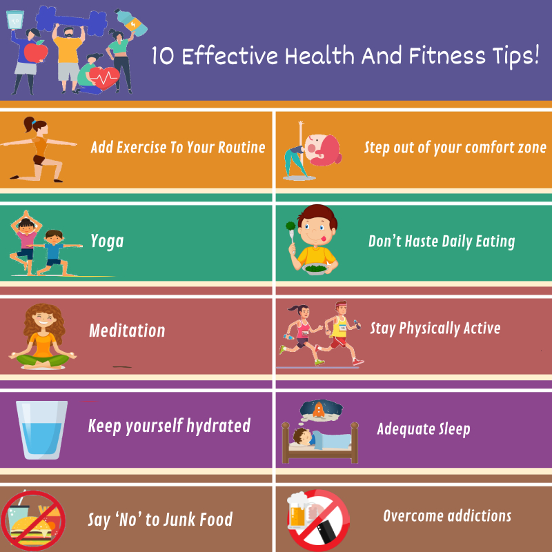 10 TIPS FOR HEALTH